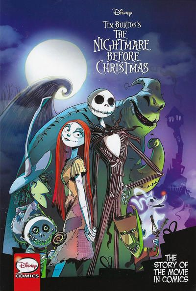 Cover For Disney Tim Burton S The Nightmare Before Chri Nightmare Before Christmas Pictures Nightmare Before Christmas Drawings Nightmare Before Christmas Book