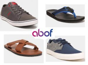 Top Branded Mens Footwears Upto 70% Off From Rs.200 At Abof