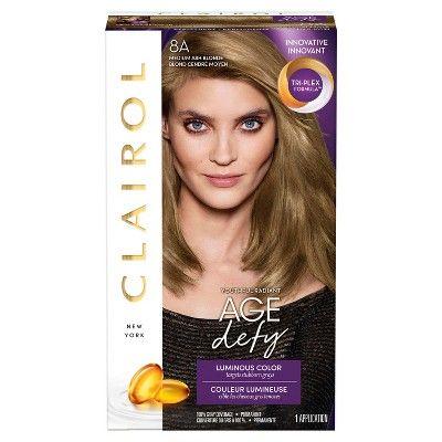 Clairol Nice N Easy Age Defy Permanent Hair Color 8a Medium Ash