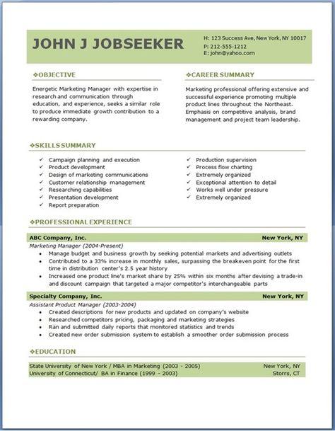 ECO executive level resume template Creative Resume Design - executive summary template microsoft word