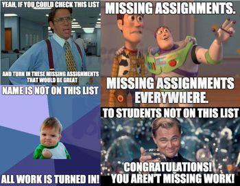 Missing Work Memes Missing Work Work Memes Teaching Humor