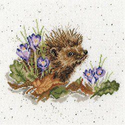 Cheese mouse Counted Cross Stitch Kit OVEN