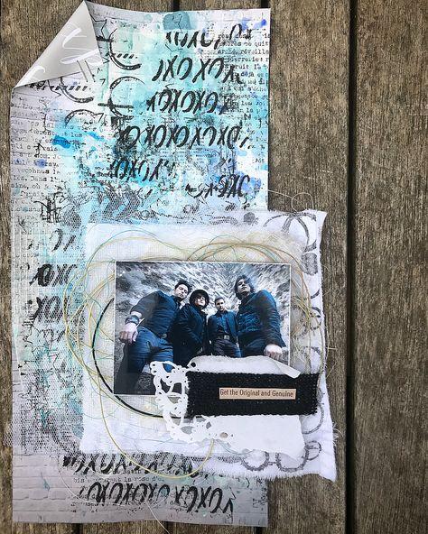 Artistbooks Ideas: Pin By Bianca Beltr N Bart S On MY #scrap #mixedmedia