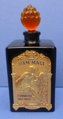 Lovely Rare Nam Mali Black Glass