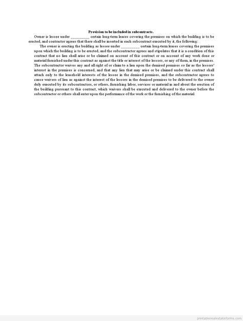 Printable Sample affidavit of equitable interest Form Printable - rent increase notice