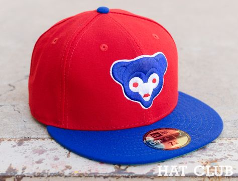 Custom Chicago Cubs 59fifty Fitted Cap Hat Club Hat World Hats Fitted Caps