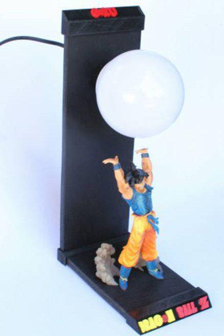 Lampara Led Dragon Ball Goku Led Lamp Dragon Ball Goku Dragon Ball Deco