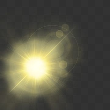 Sunshine With Lens Flare Abstract Rays White Png And Vector With Transparent Background For Free Download Lens Flare Light Background Images Flares
