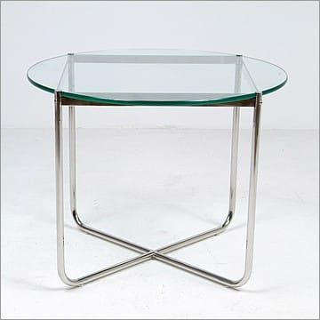 Mies Van Der Rohe Style Exhibition Round Table Modern Table