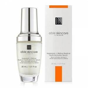Able Skincare Hyaluronic Retinol Radical Youth Activator Serum 30ml Retinol Online Cosmetics Serum