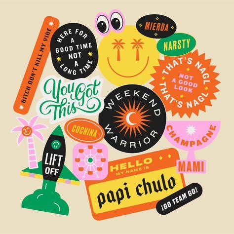 Sticker Pack: LA & SF Pals