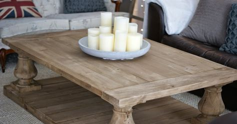 Meggie Frue At Home Balustrade Coffee Table Stol Dom