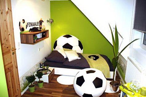 Kinderzimmer Fussball Gestalten Malte Zimmer In 2019