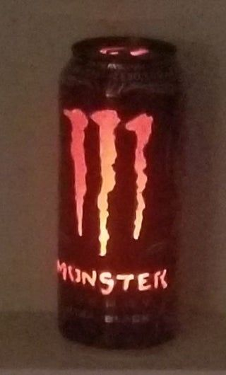Monster Energy Can Light : 7 Steps (with Pictures) - Instructables Monster Energy Girls, Love Monster, Monster Energy Drinks, Color Changing Lights, Indie Kids, Small Letters, Can Lights, Wallpaper Iphone Cute, Aesthetic Grunge
