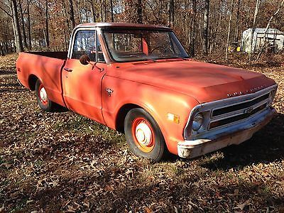 Chevrolet C 10 Short Box Barn Find Shop Truck Killer Patina 1968 Pickup C10 SHORT BOX