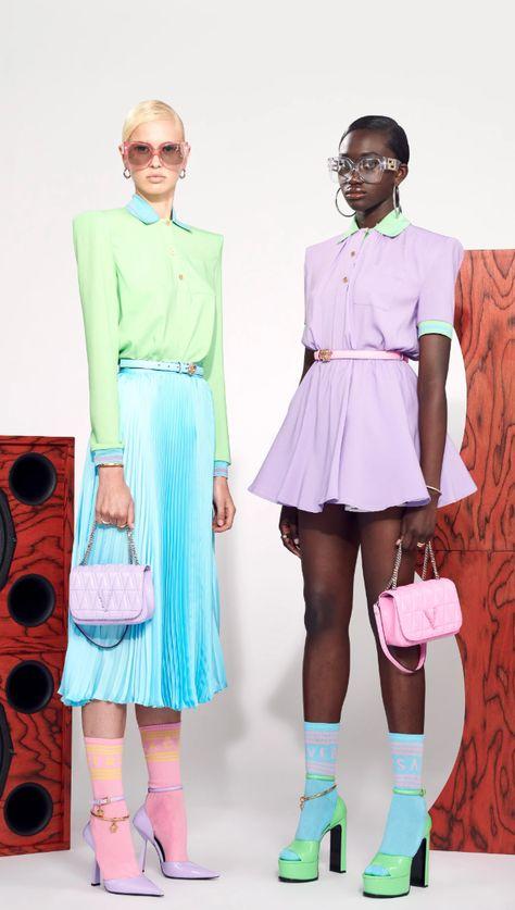 Versace Resort 2021 Fashion Show