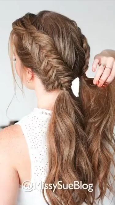 Braid hairstyle   Simple Tutorial