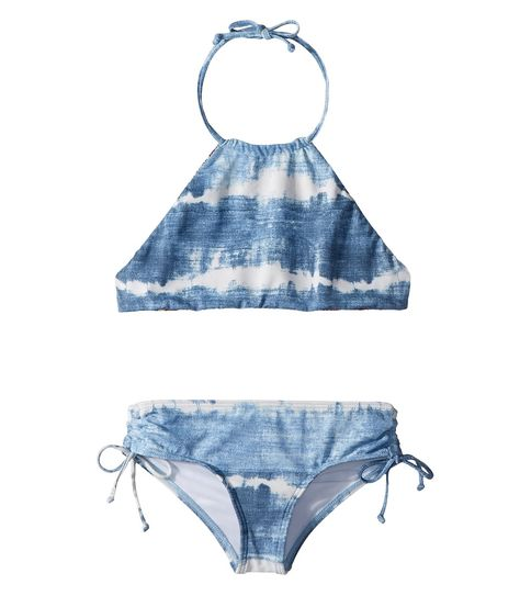 1b2bebb864c3c7 Billabong Kids Lil Bliss High Neck Set (Little Kids Big Kids) Girl s  Swimwear Sets Seashell