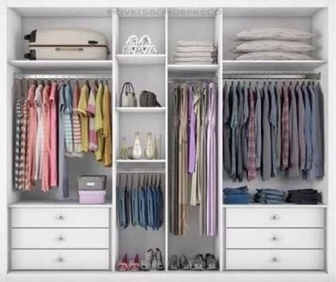 52 Wardrobe Designs You Can Try To Store All Your Clothes