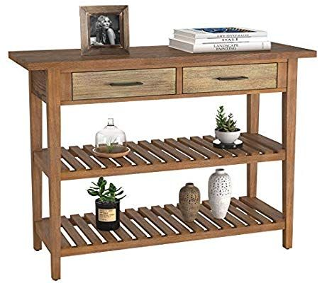 Homecho Rustic Console Sofa Table