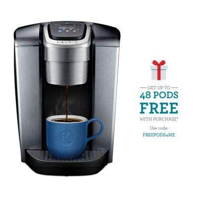 Keurig K Elite Single Serve K Cup Pod Coffee Maker With Strong