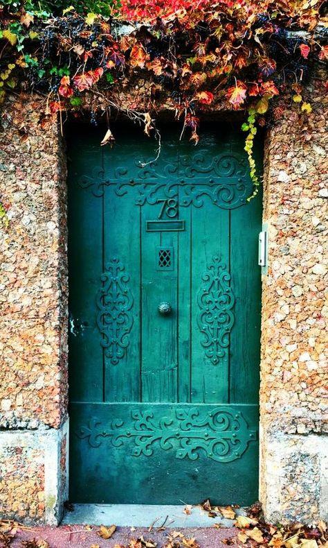 16 Puertas hermosísimas y creativas que quisieras en tu casa