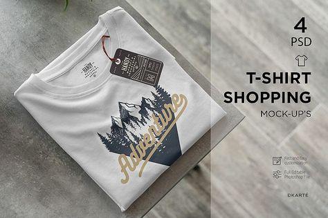 9200+ T-Shirt-Hanging-Mockup-Pixeden Photoshop File