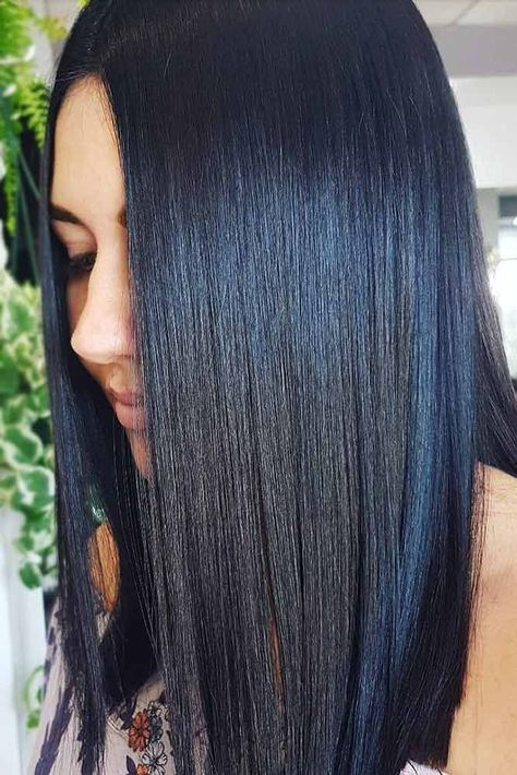 18 Tasteful Blue Black Hair Color Ideas To Try In Any Season