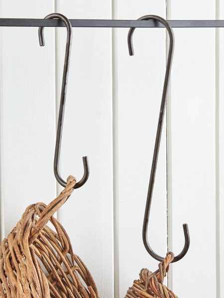 12inch Wrought Iron S Hook 26 85 Wrought Hand Forged Iron