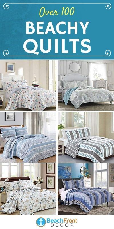 Nautical And Beach Quilt Sets Beachfront Decor In 2020 Nautical Bedding Sets Master Bedrooms Decor Huge Master Bedroom