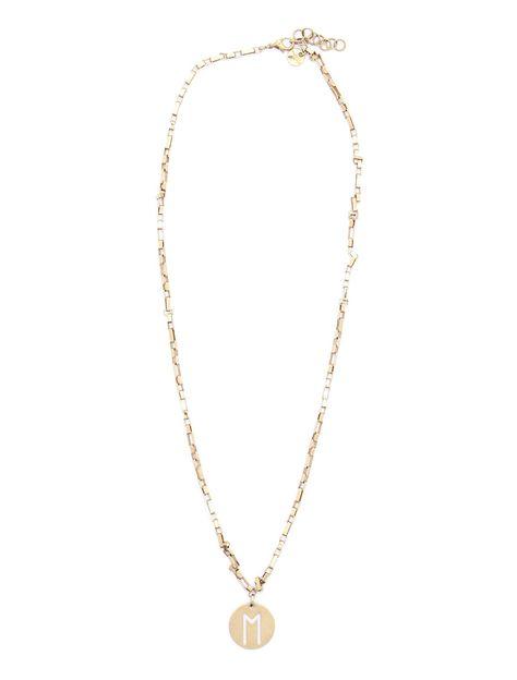 #collana dorata con ciondolo. € 25 #diffusionetessile #workoutfit #AI16 #moda #fashion