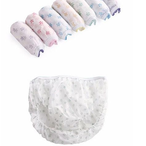 c48b4cc67fee0 7PCS Cotton Pregnant Briefs Sterilized Disposable Underwear Travel Panties  Clean  fashion  clothing  shoes  accessories  womensclothing  maternity ( ebay ...