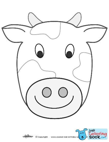 It is a graphic of Free Printable Cow Mask throughout chicken
