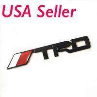 3D Metal TRD Emblem Sticker Decal Toyota Racing Development Rear Tailgate Badge