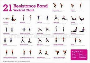 Image Result For Chair Exercises For Seniors Pdf Flex Bands Band Workout Resistant Band Workouts Resistance Band Exercises