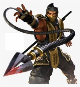Mortal Kombat Scorpion Scorpion Mortal Kombat Kunai Hd Png Download Scorpion Mortal Kombat Mortal Kombat Art Mortal Kombat