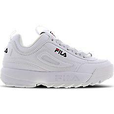 Fila Disruptor II - Grade School Shoes (FW02945-111) @ Foot ...