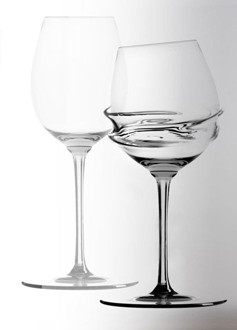 Unusual Designer Wine Glasses