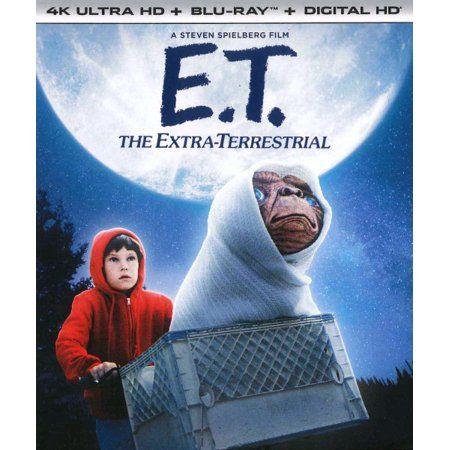 E T The Extra Terrestrial 4k Ultra Hd Blu Ray Digital Copy Walmart Com Cine Fantastico Extraterrestre 4k Uhd