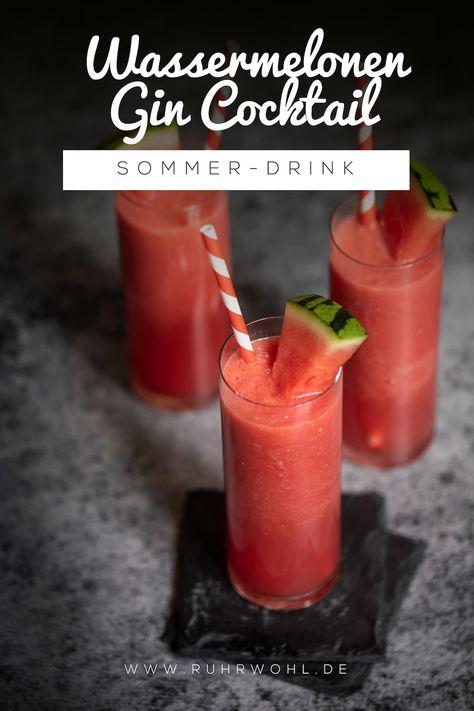 Let the sunshine in: Rezept für einen Wassermelonen-Gin-Cocktail
