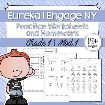 Pin On Tpt Eureka math grade module worksheets