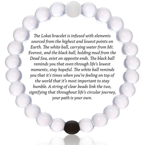 Lokai Bracelet | Stay Hopeful, Stay Humble. just received three for my birthday--love them