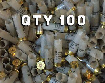 Empty Shotgun Shells & Brass Ammo Casings by CraftSuppliesDepot