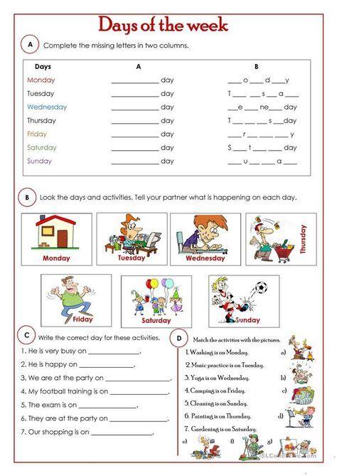 18+ Worksheets Beginners English