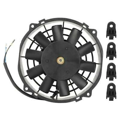 Sponsored Ebay Universal Abs Radiator Cooling Fan Balck Fit For
