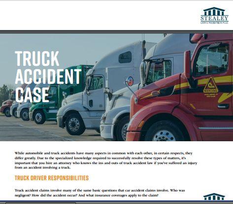 semi truck accident lawyer attorneys