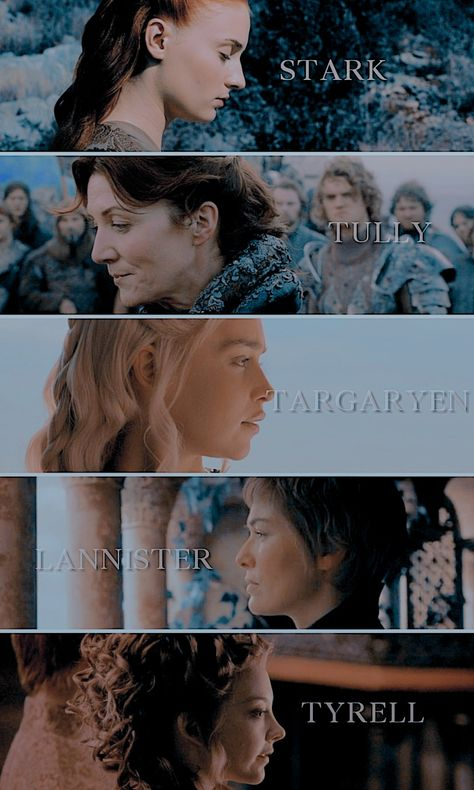 Noble women of Game of Thrones