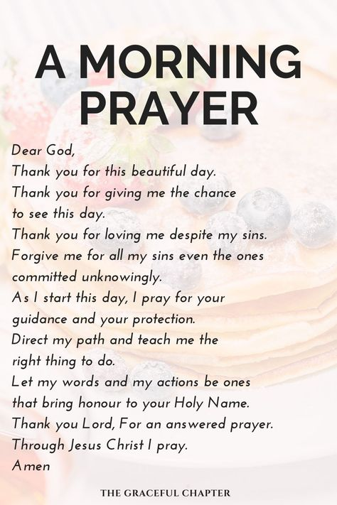 Start Your Day With God - The Graceful Chapter