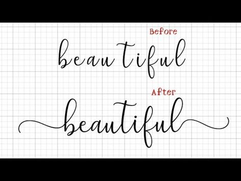 How to Add Flourishes and Glyphs to Fonts in Cricut Design Space on Macbook Cricut Explore Projects, Vinyl Projects, Circuit Projects, Cricut Fonts, Cricut Vinyl, Cricut Tutorials, Cricut Ideas, Sign Fonts, Cricut Help