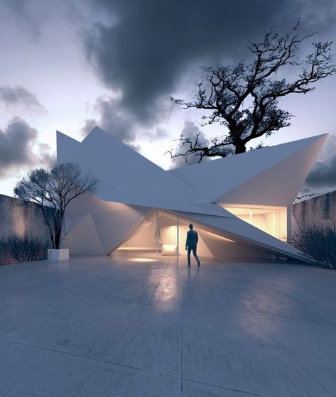 Architecture  Modern design : Architectural Concepts by Gregory Gomez #minimalistarchitecture